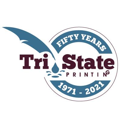 Tri-State 50th Anniversary Logo (Circle)