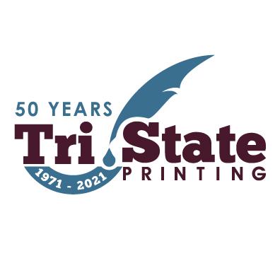 Tri-State 50th Anniversary Logo (Wide)