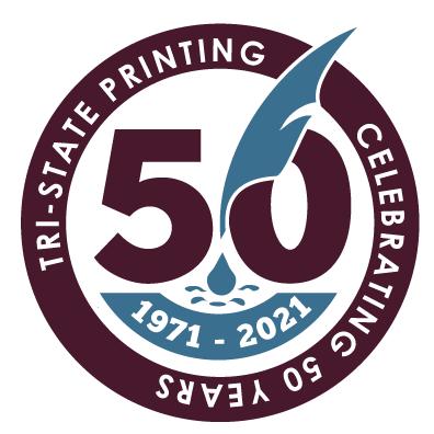 Tri-State 50th Anniversary Logo (Seal)
