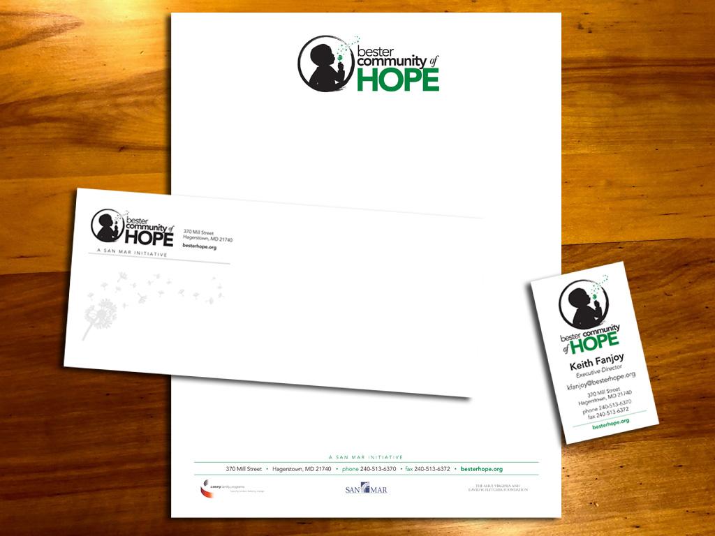 Bester Community of Hope Letterhead, BC, Env