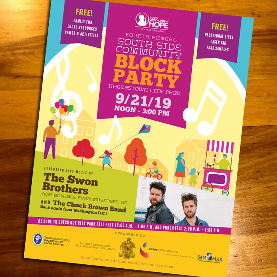 Block Party Flyer 2019
