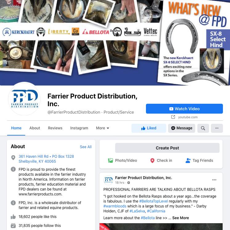 FPD, Inc. Facebook