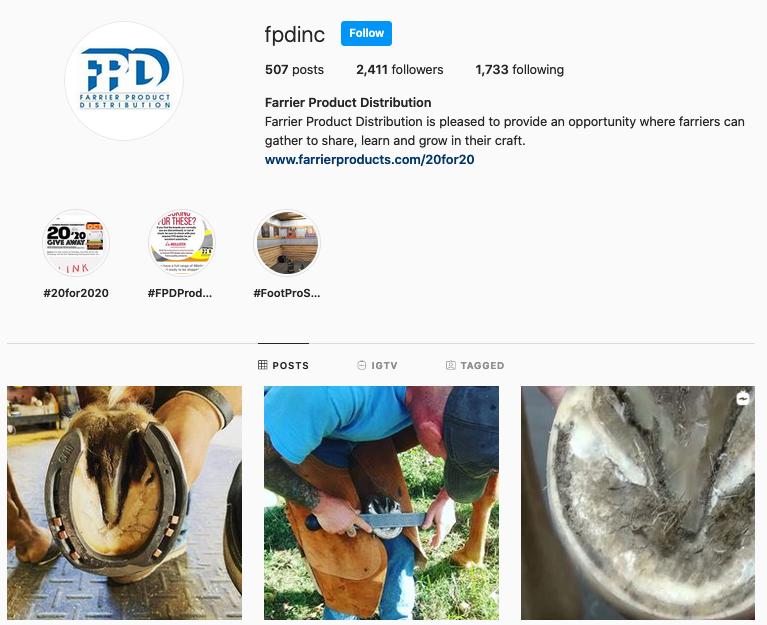 FPD, Inc. Instagram