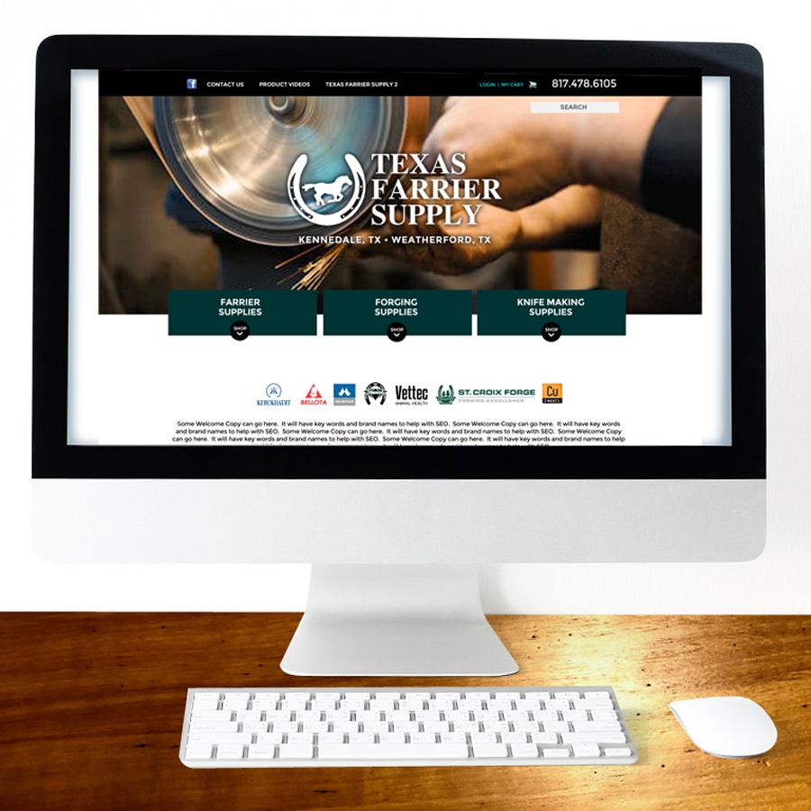 Texas Farrier Supply Web
