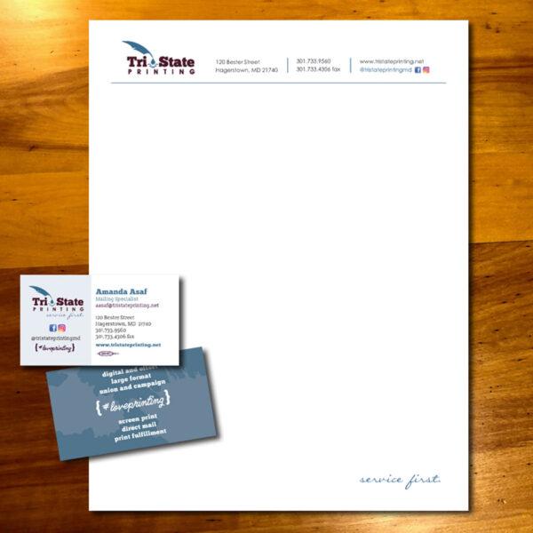 Tri-State Printing Letterhead & BC