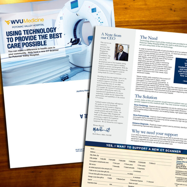 WVU Medicine - PVH CT Scanner Capital Campaign PC