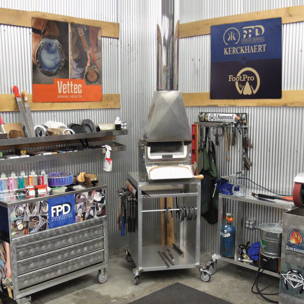 FootPro Shop Signs and Cart