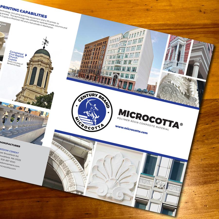 Microcotta Brochure Page 1