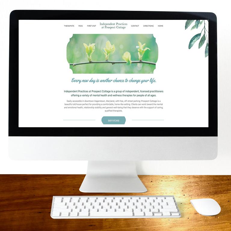 Prospect Cottage Web Design